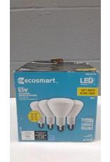 Brampton 65W Equivalent Soft White BR30 Dimmable LED Light Bulb (4-Pack)