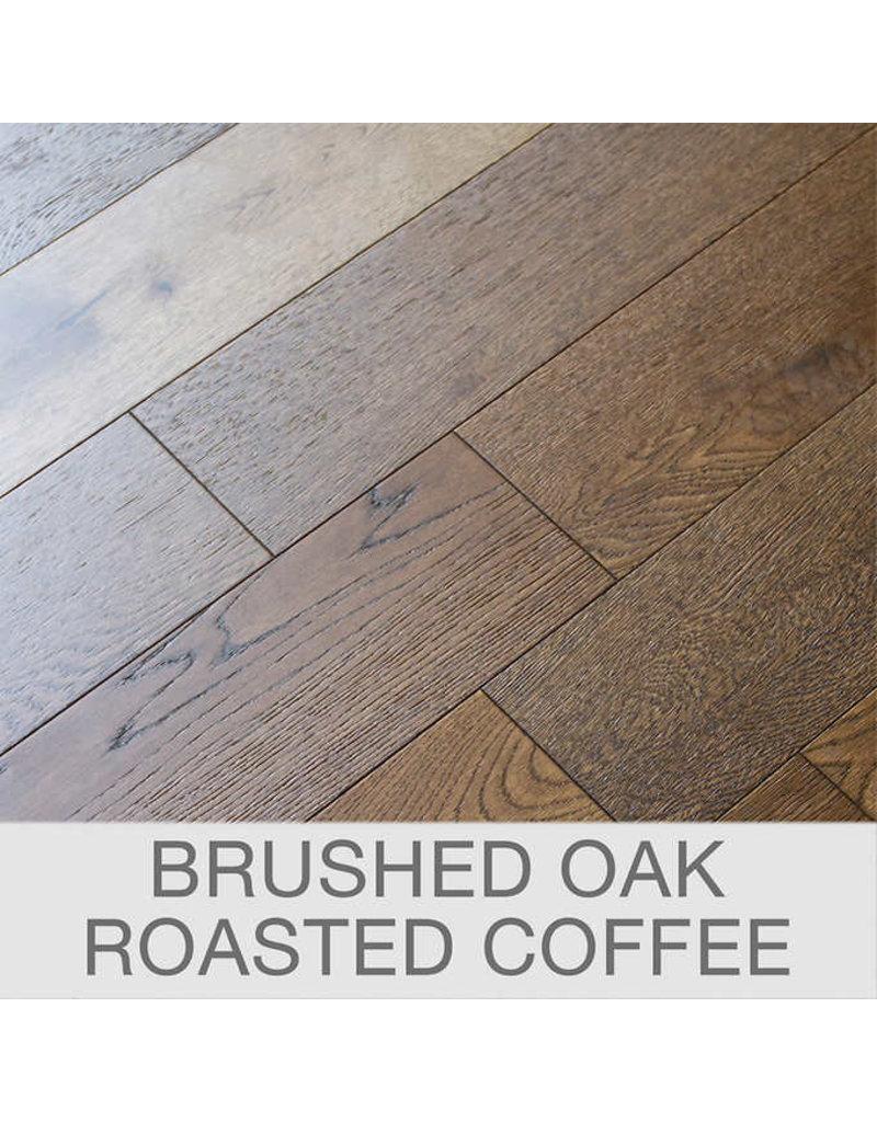 Brampton Brushed Oak Engineered Wood Flooring