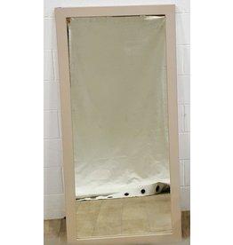 "East York Beige framed mirror - 28"" x 59"""