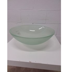North York New Tempered Frosted Glass Sink Basin