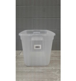 Brampton 76L Clear Plastic See-Through Tote