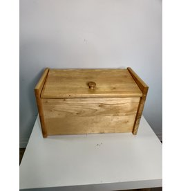 Markham West Wood Storage Box