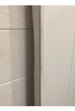 """Uxbridge 35 3/4"""" x 79"""" White 3-Panel Door"""