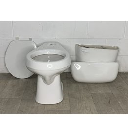 East York White Toilet