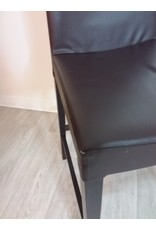 Vaughan A Pair of Espresso Brown Bar Chairs