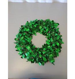 Scarborough Plastic Tinsel Wreath