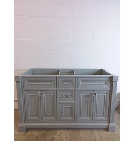 "North York 55"" Oxford Gray Vanity"