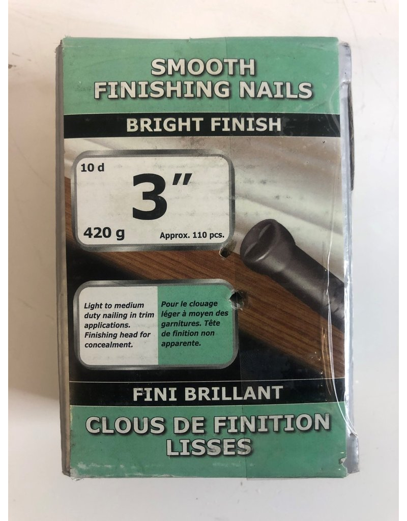 "North York 3"" Smooth Finishing Nails"