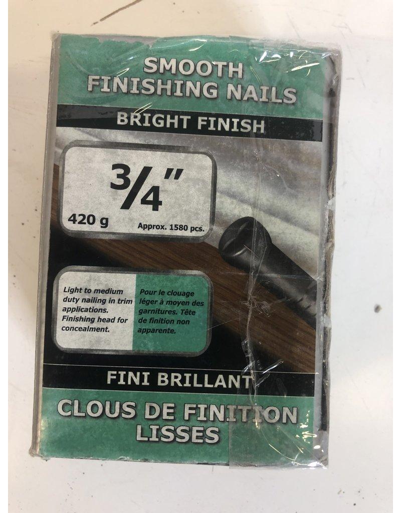 """North York 3/4"""" Smoothing Finishing Nails"""
