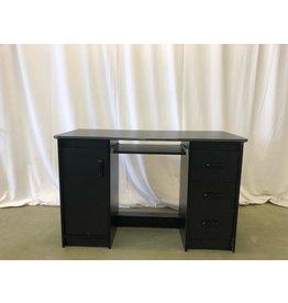 Scarborough Black 3-Drawer Desk