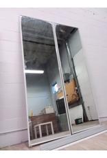"North York 94"" Mirrored Sliding Closet Door Set"