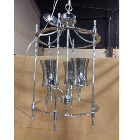 North York Silver Coloured chandelier