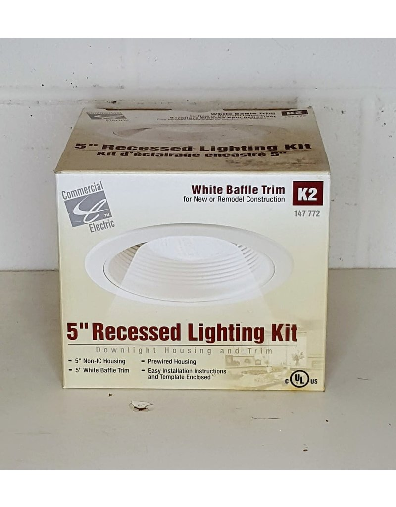"East York 5"" recessed lighting kit"