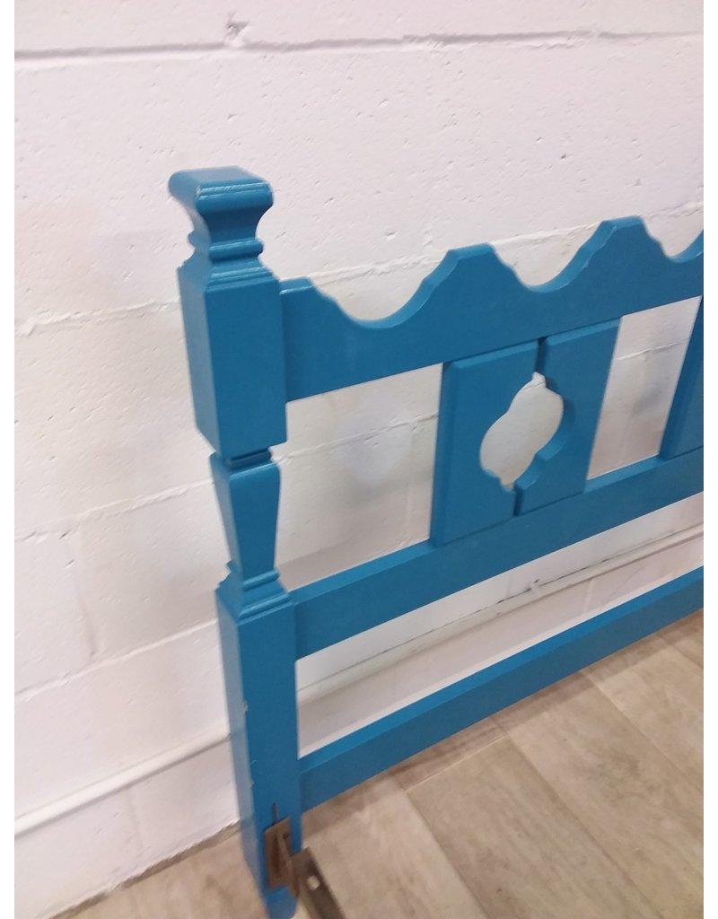 North York Blue Single Bed Frame