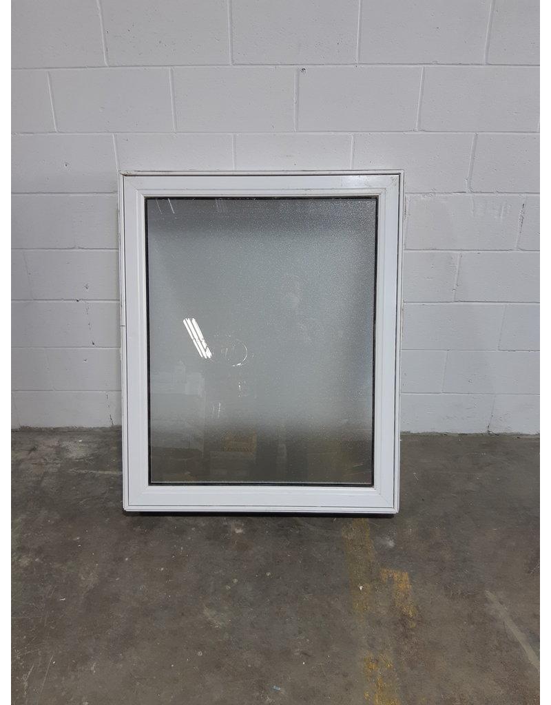 """Etobicoke 45""""W*37""""H Fixed Vinyl Window With Privacy Glass"""