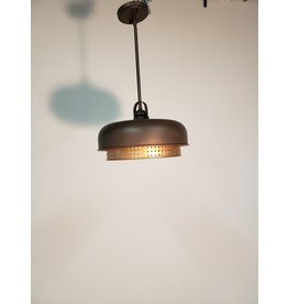 Woodbridge Oil Rubbed Bronze/ Brass Look Pendant Light