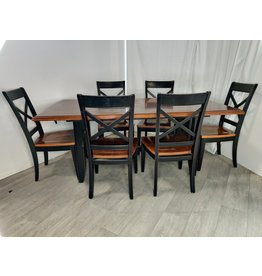 Markham West Dining Room Table With 6 Chairs