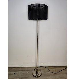 Markham West Black Thread Floor Lamp