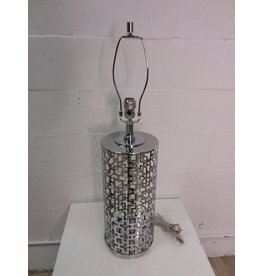 North York New Chrome Cage Style Designer Table Lamp