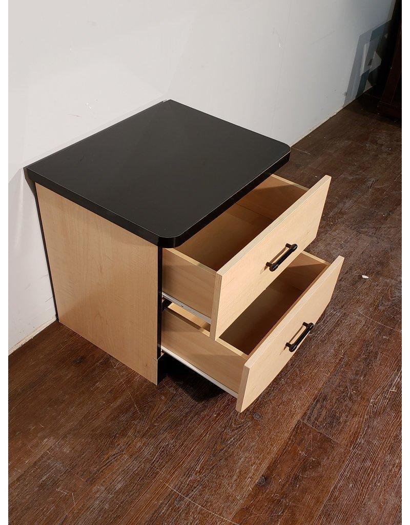 Woodbridge Black Top Side Table