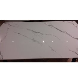 Vaughan Faux-Marble Kitchen Table