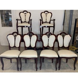 East York Dining Set with Six Chairs and Expansion Leaf