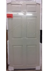 "Vaughan 34"" x 76"" Ivory Sliding Door"
