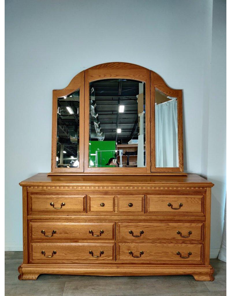 Markham West 7 Drawer Dresser With Mirror