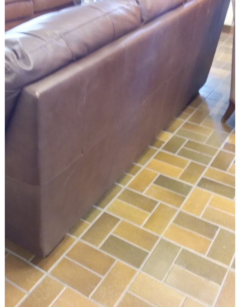 Vaughan Brown Bonded Leather Sofa