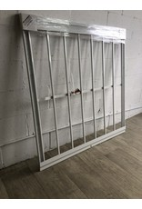 """North York 42"""" X 52"""" Window Security Bar with Removable Window Bar"""