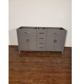 """Woodbridge Kalize II 63"""" Double Vanity Cabinet- No Top"""