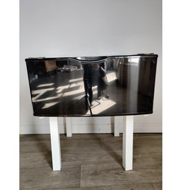"Markham West WE357A0V/XAA 14"" Laundry Pedestal (Black Stainless)"