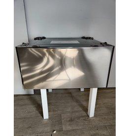Markham West LG 13.6-in Laundry Pedestal (Graphite Steel) (WDP4V)