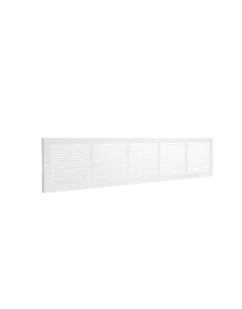 """Vaughan 30"""" x 6"""" White Baseboard Grille"""