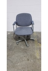 Etobicoke Blue Desk Chair