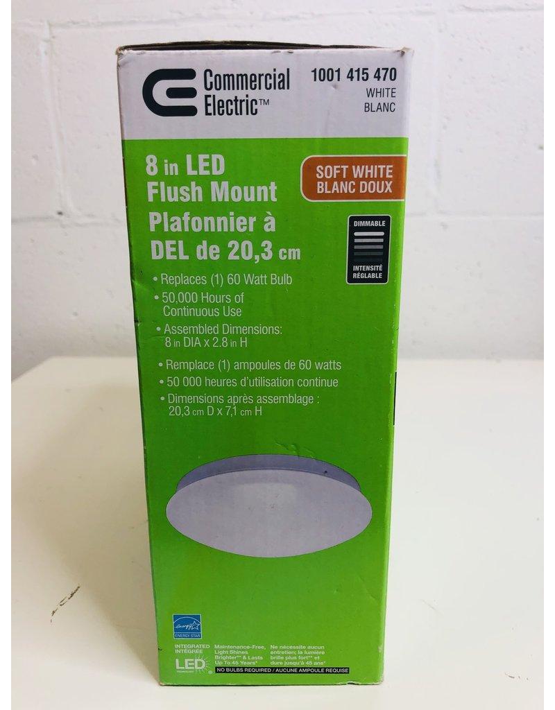 """North York 8"""" LED Flush Mount Ceiling Light"""
