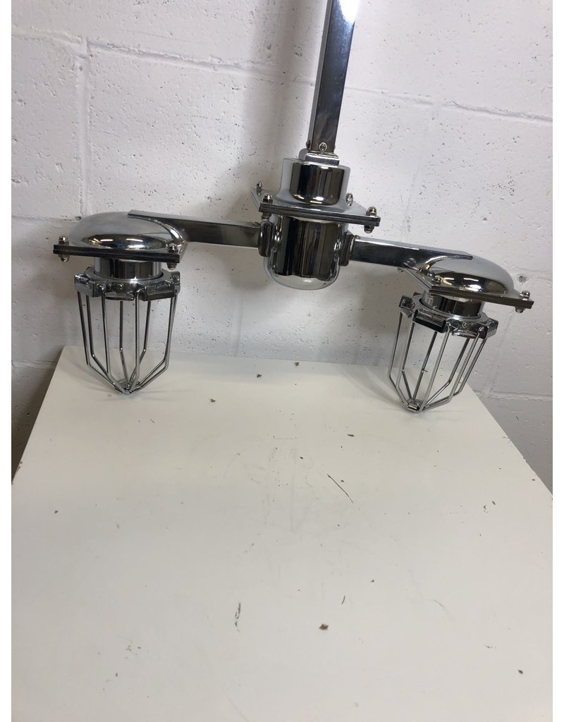 North York 2-Light Industrial Ceiling Fixture