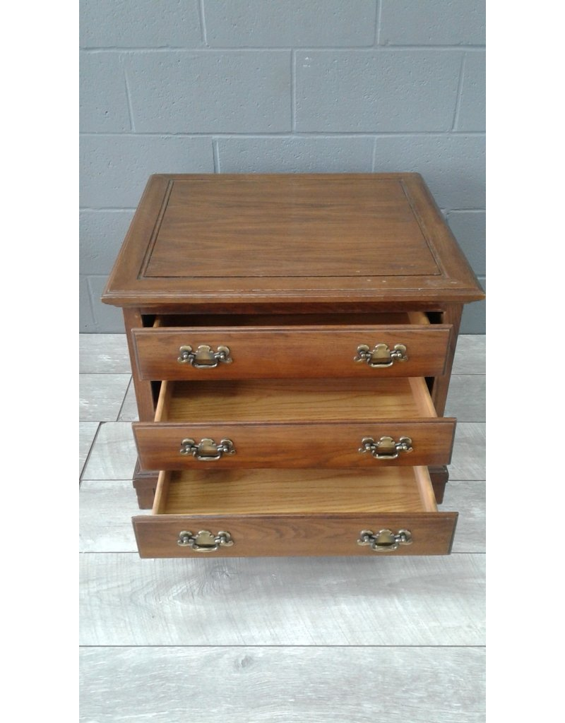 Brampton 3 Drawer Side Table