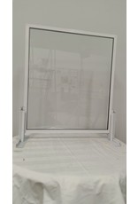 Woodbridge Aluminum Glass Counter Sneeze Guard - 28*31-1/2