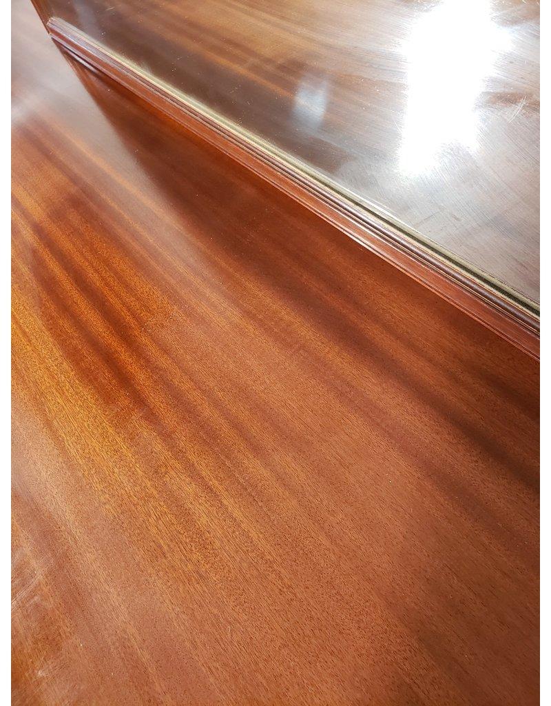 Woodbridge 9 Curvy Drawer Dresser with Mirror
