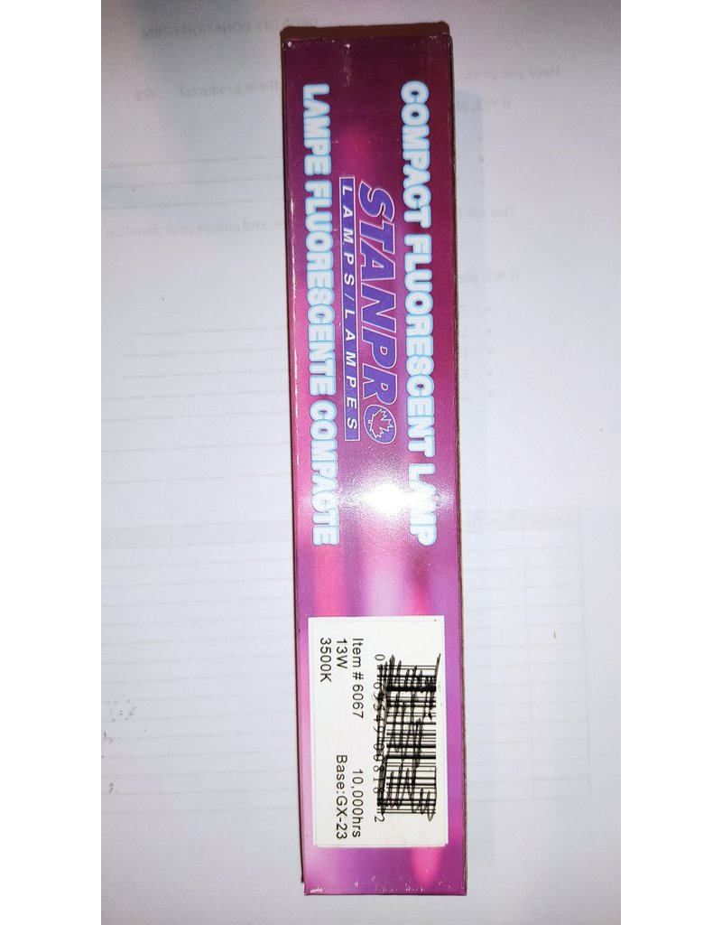 Woodbridge 3W Double Twin Tube Plug-in Fluorescent Lamp gx23