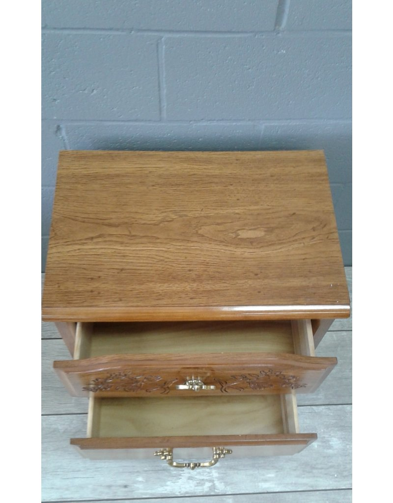 Brampton 2-Drawer Side Table