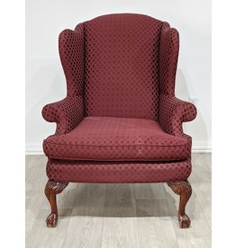 Newmarket Red Accent Chair