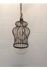 Uxbridge 6-Light Spiral Cage Chandelier