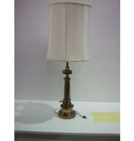 Etobicoke Vintage Desk Lamp with Light Cream Colour Shade