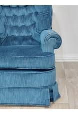 Newmarket Blue Swivel Chair