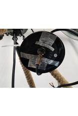 Etobicoke Black Rectangle Chain Fixture