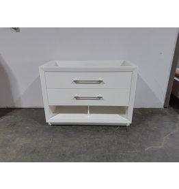 """Etobicoke 47""""W White Vanity Cabinet"""