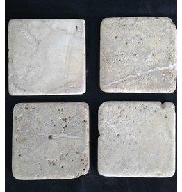 Brampton Travertine Stone Tiles (Silver)