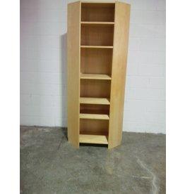Etobicoke Corner Wooden Shelf With Adjustable Shelfing